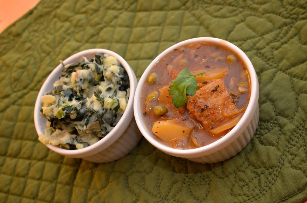 Colcannon & Unbeef Stew