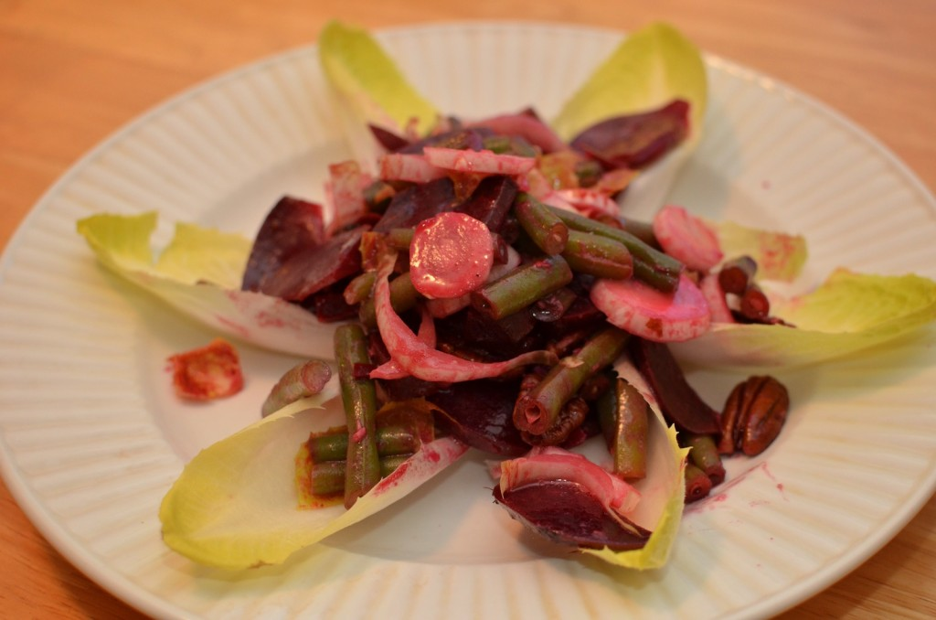 Green Bean Beet Salad