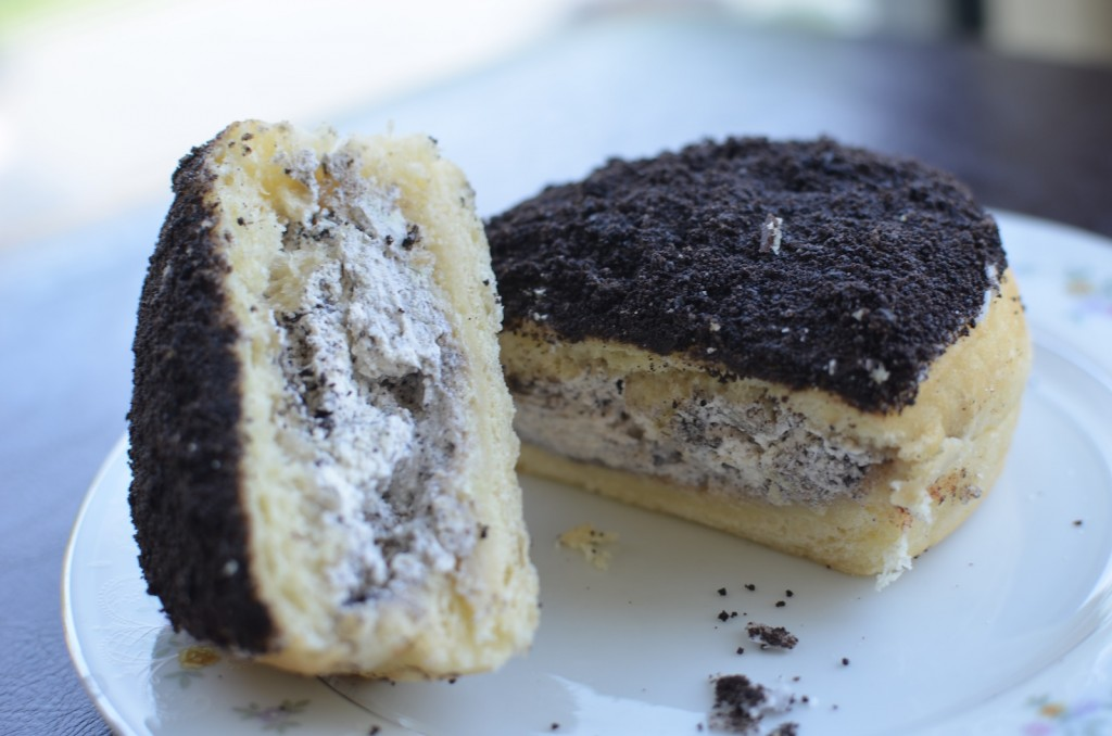 Cookies & Cream filled doughnut